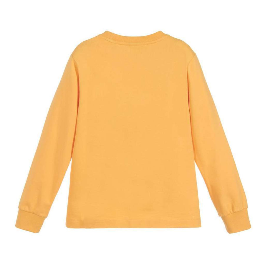 Fendi Yellow Winking Face Sweater