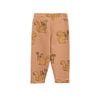 Mini Rodini Beige Squirrel Sweatpants-Pants-Mini Rodini-kids atelier