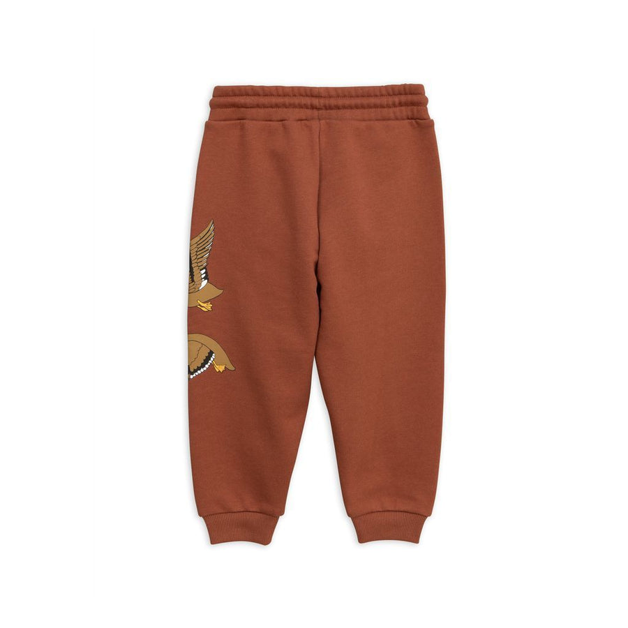 Mini Rodini Brown Buck Sweatpants