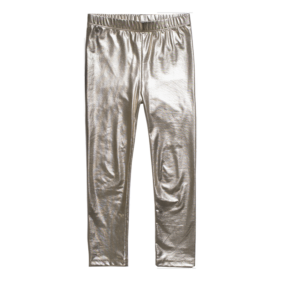 Imoga Metallic Gold Alvin Leggins-Leggings-Imoga-kids atelier