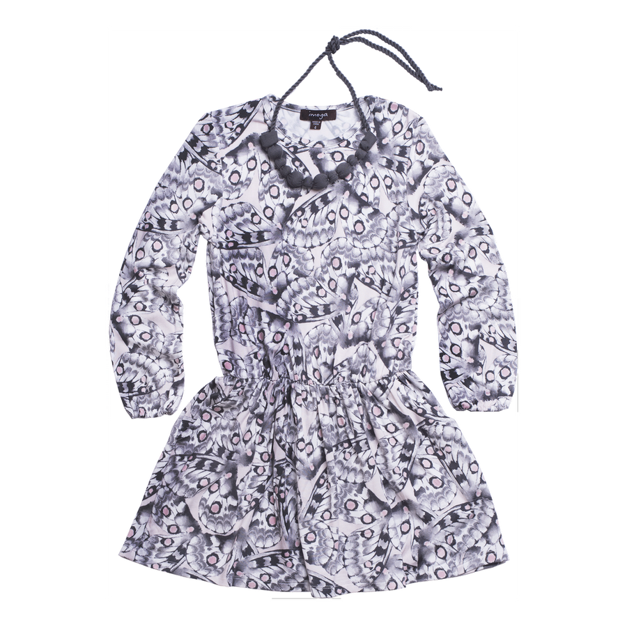 IMOGA BUTTERFLY PATRICIA DRESS-Dresses-Imoga-kids atelier