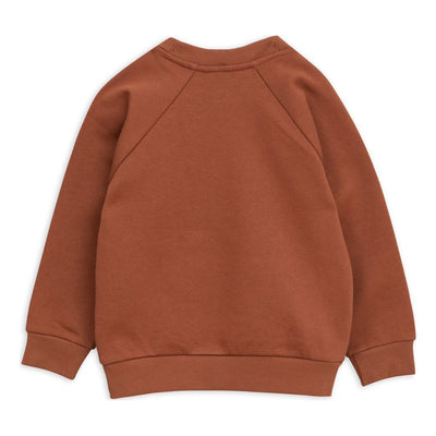 Mini Rodini Brown Duck Sweatshirt-Sweaters-Mini Rodini-kids atelier