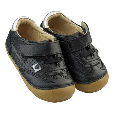 Old Soles Sporty Pave Black / Silver Shoes-Shoes-Old Soles-kids atelier