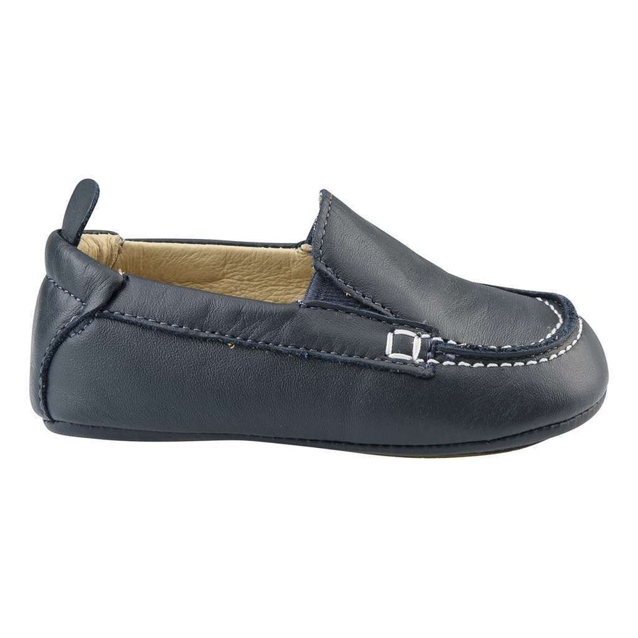 OLD SOLES-Baby Boat Shoe Navy-089NA