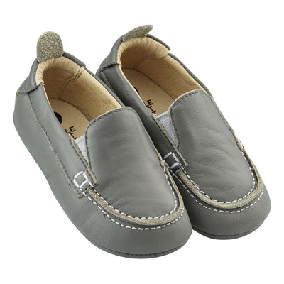 Old Soles Baby Boat Gray Shoe-Shoes-Old Soles-kids atelier