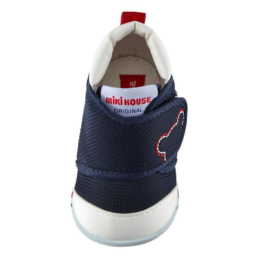 MIKI HOUSE NAVY BOY BABY SHOES