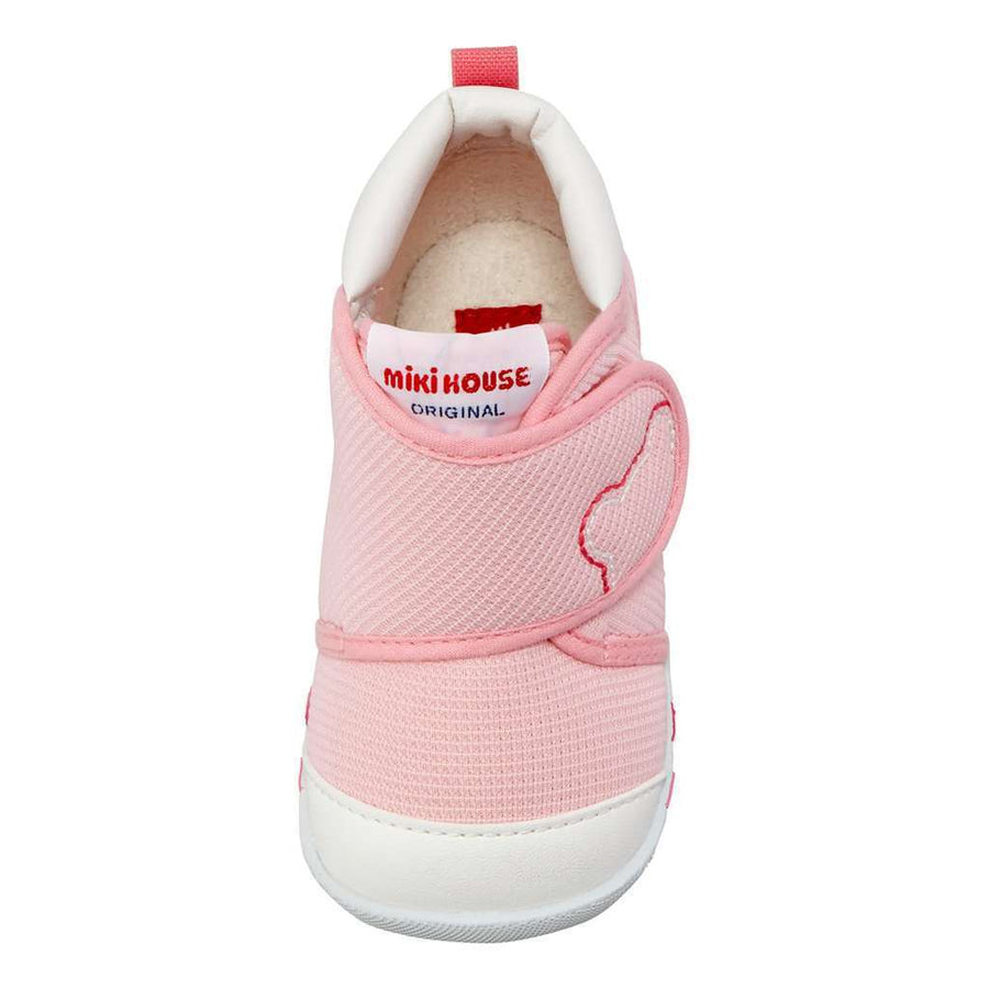 MIKI HOUSE Pink Baby Shoes