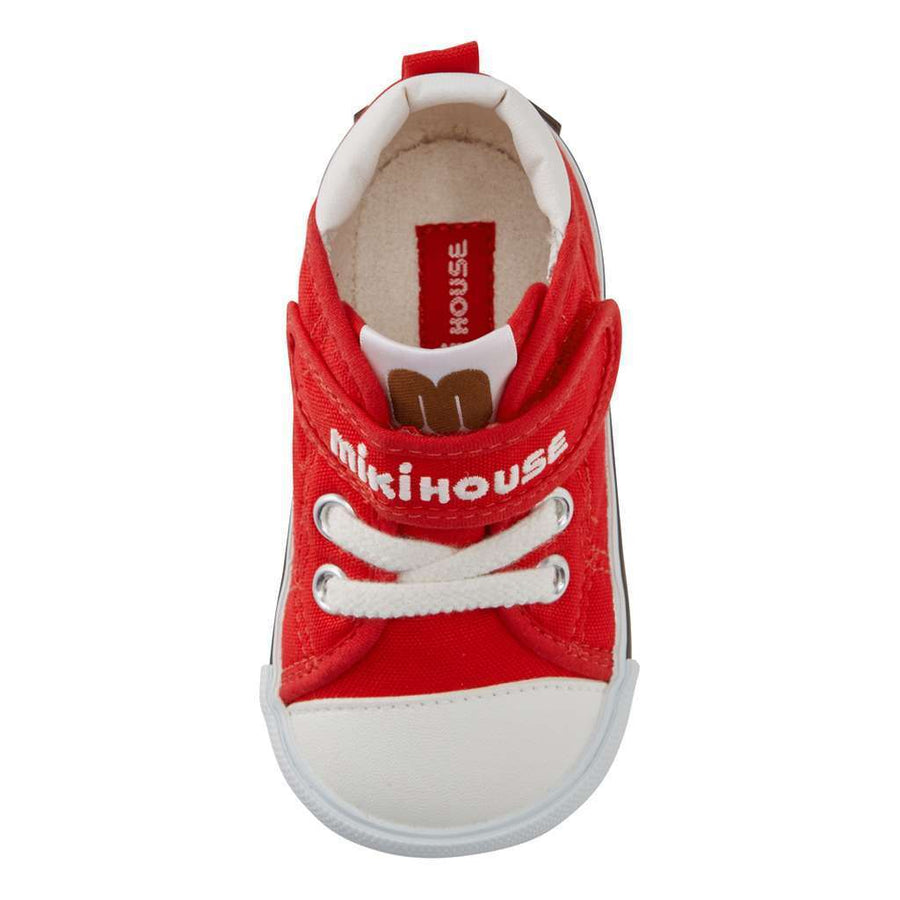MIKI HOUSE RED STRAP SHOES-Shoes-MIKI HOUSE-kids atelier