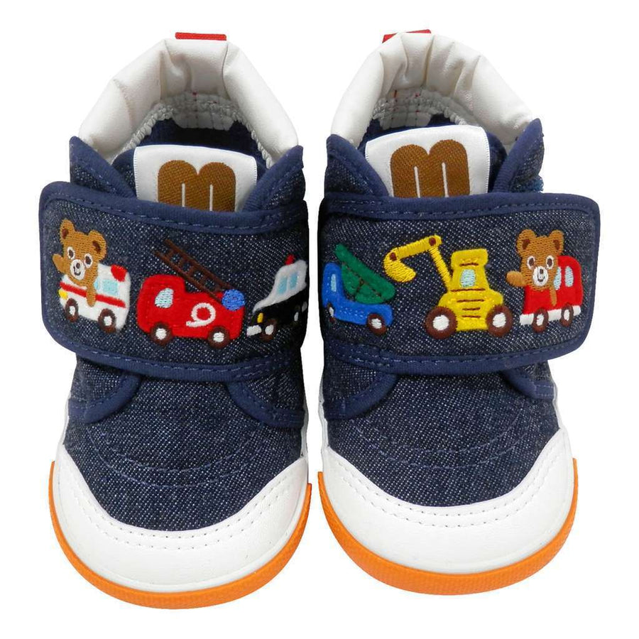 Miki House Bear Shoes-Shoes-MIKI HOUSE-kids atelier