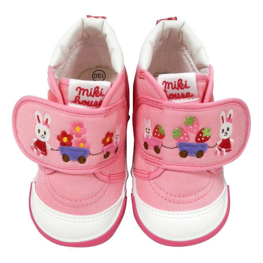 MIKI HOUSE BUNNY GIRLS SHOES