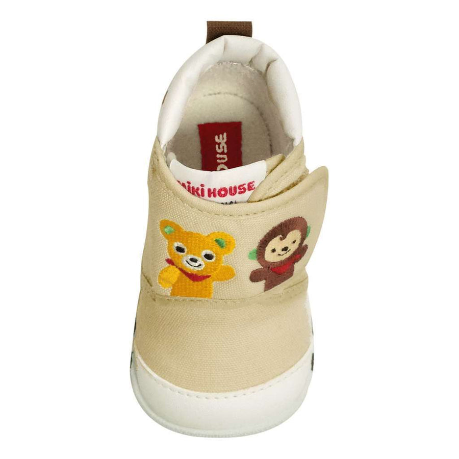 MIKI HOUSE BABY MONKEY SHOES-Shoes-MIKI HOUSE-kids atelier