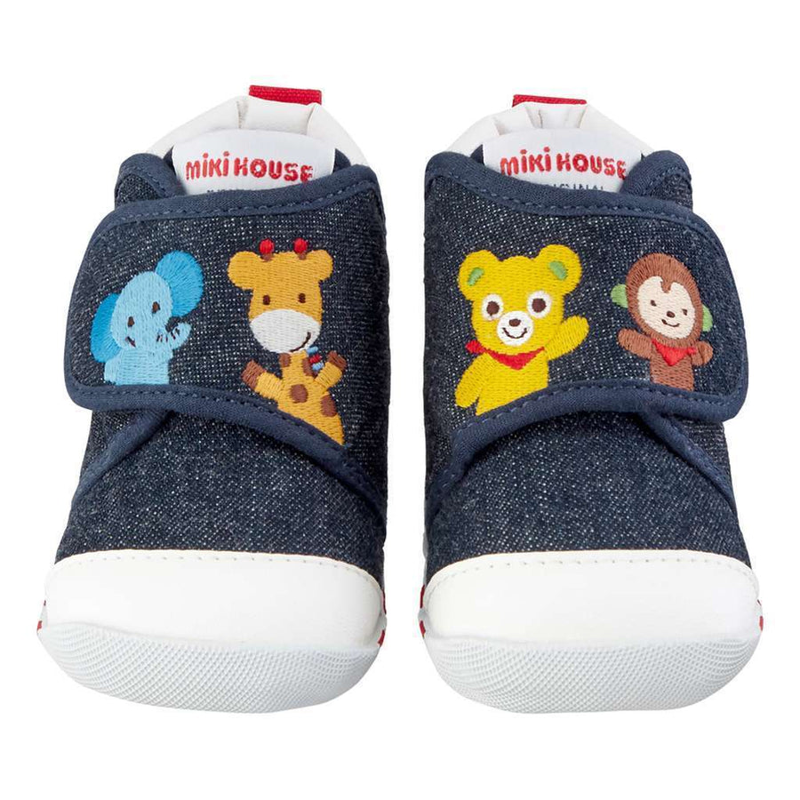 MIKI HOUSE ANIMALS BABY SHOES-Shoes-MIKI HOUSE-kids atelier