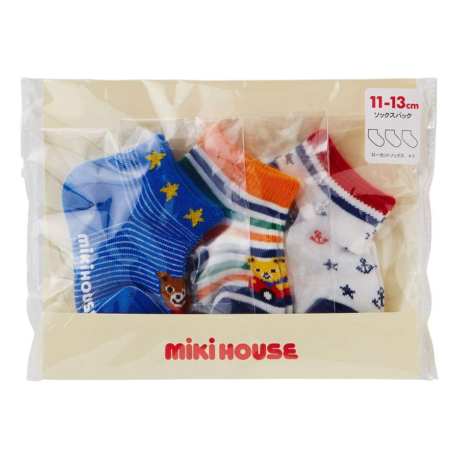 MIKI HOUSE MULTI COLOR SOCKS-Accessories-MIKI HOUSE-kids atelier