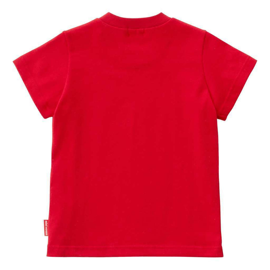 Miki House Red Tshirt-T-Shirt-MIKI HOUSE-kids atelier