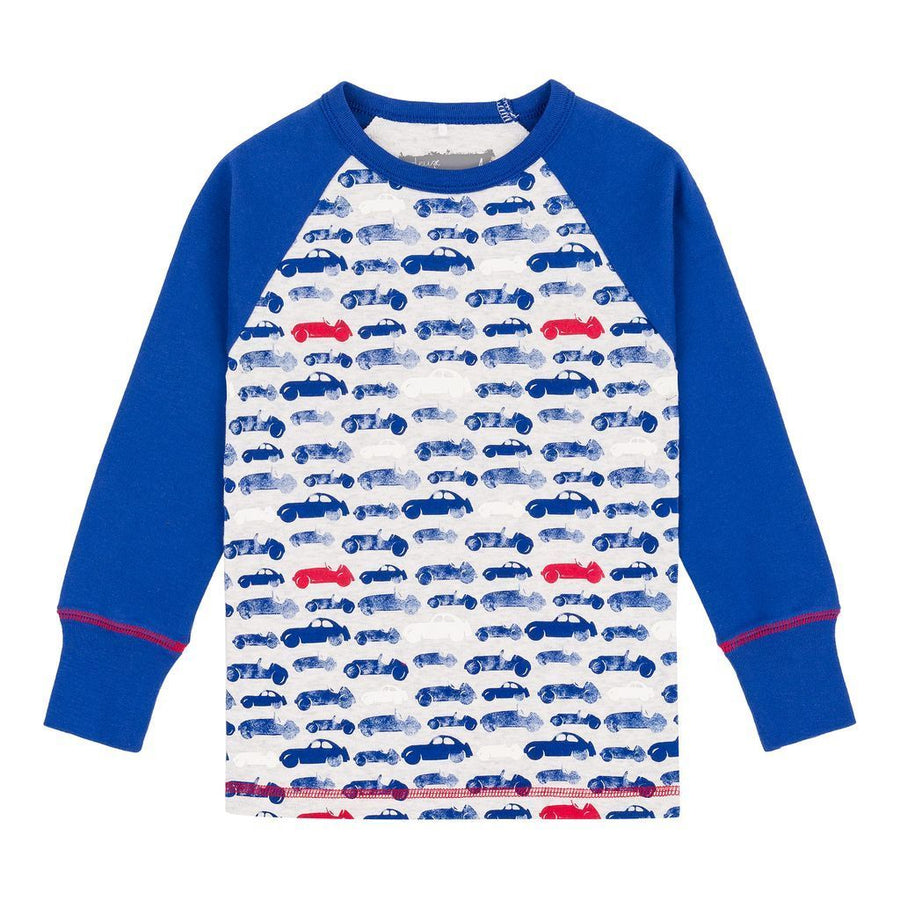 Mazarine Blue Cars Pajamas