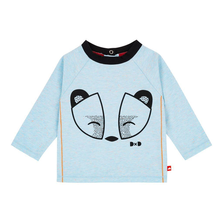 Deux Par Deux Blue Raccoon Top & Pant Set-Outfits-Deux Par Deux-kids atelier