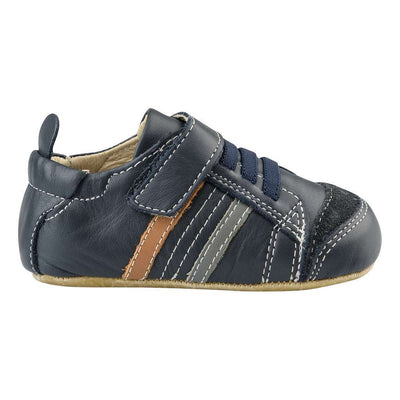 Old Soles Urban Edge Navy/Grey/Tan Shoes-Default-Old Soles-kids atelier