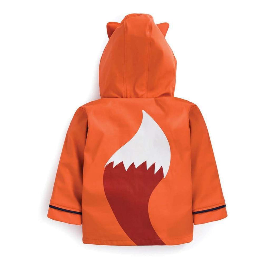 Jojo Maman Bebe Orange Fox Raincoat-Outerwear-Jojo Maman Bebe-kids atelier