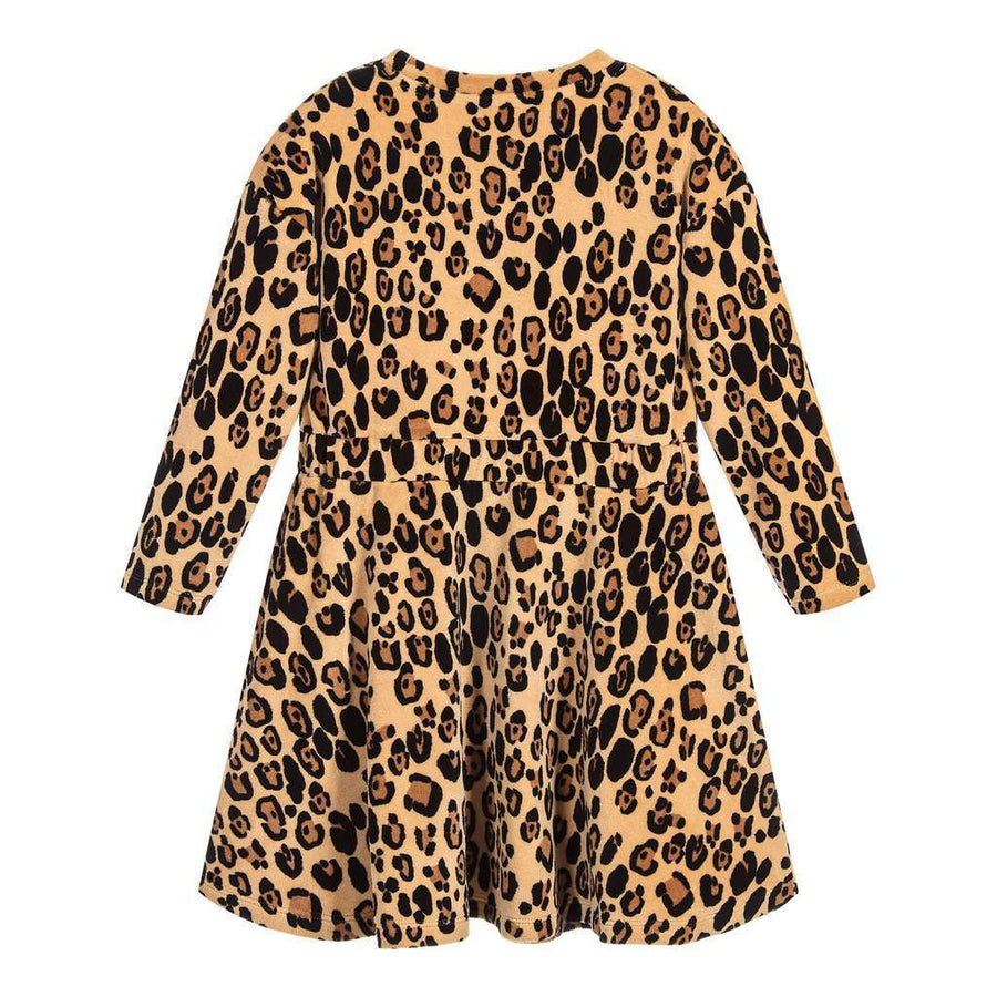 Mini Rodini Leopard Velour Dress