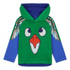 Oilily Green Totem Bird Thoms T-shirt-T-Shirt-Oilily-kids atelier