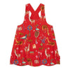 OILILY-Daimaa dress 24 aop Atlas mountain elements red-YF18GDR001-24-Default-Oilily-kids atelier