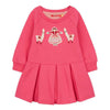 Oilily Pink Hermosa Sweater Dress-Dresses-Oilily-kids atelier