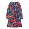 Oilily Painted Flower Texas jersey dress-Dresses-Oilily-kids atelier