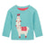 Oilily Hisabelle Melee Green With Lama Sweater