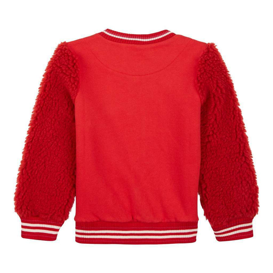 Oilily Red Homber Sweat Cardigan-Default-Oilily-kids atelier