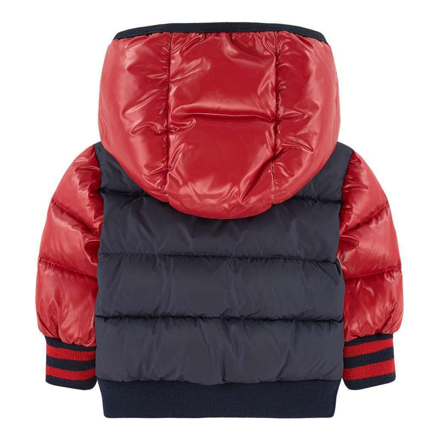 MONCLER RED NAVY MONIEUX JACKET-Outerwear-Moncler-kids atelier
