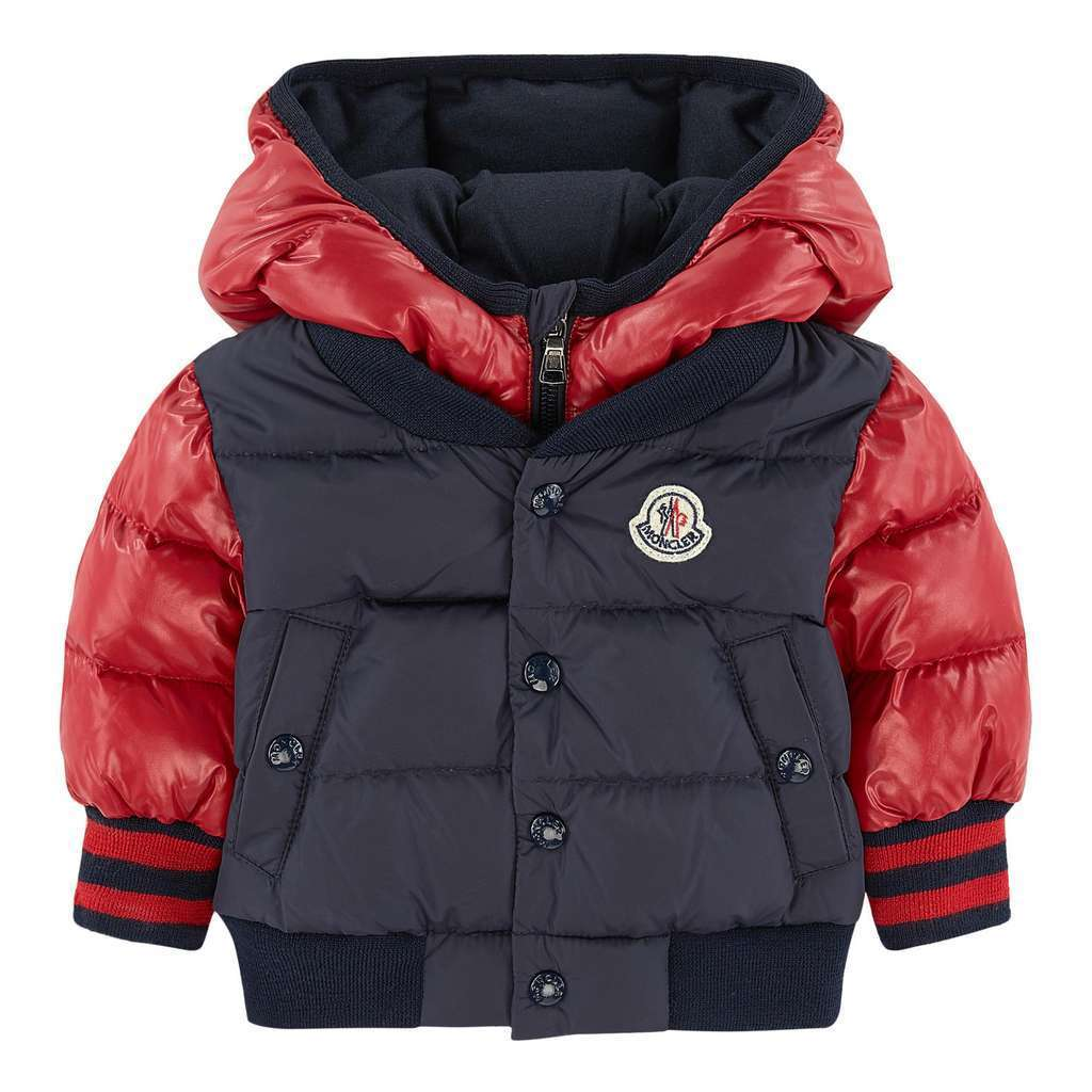 4511d502d Moncler Red Navy Monieux Jacket - kids atelier