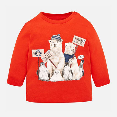 Mayoral Paprika Bears T-Shirt-Default-Mayoral-kids atelier