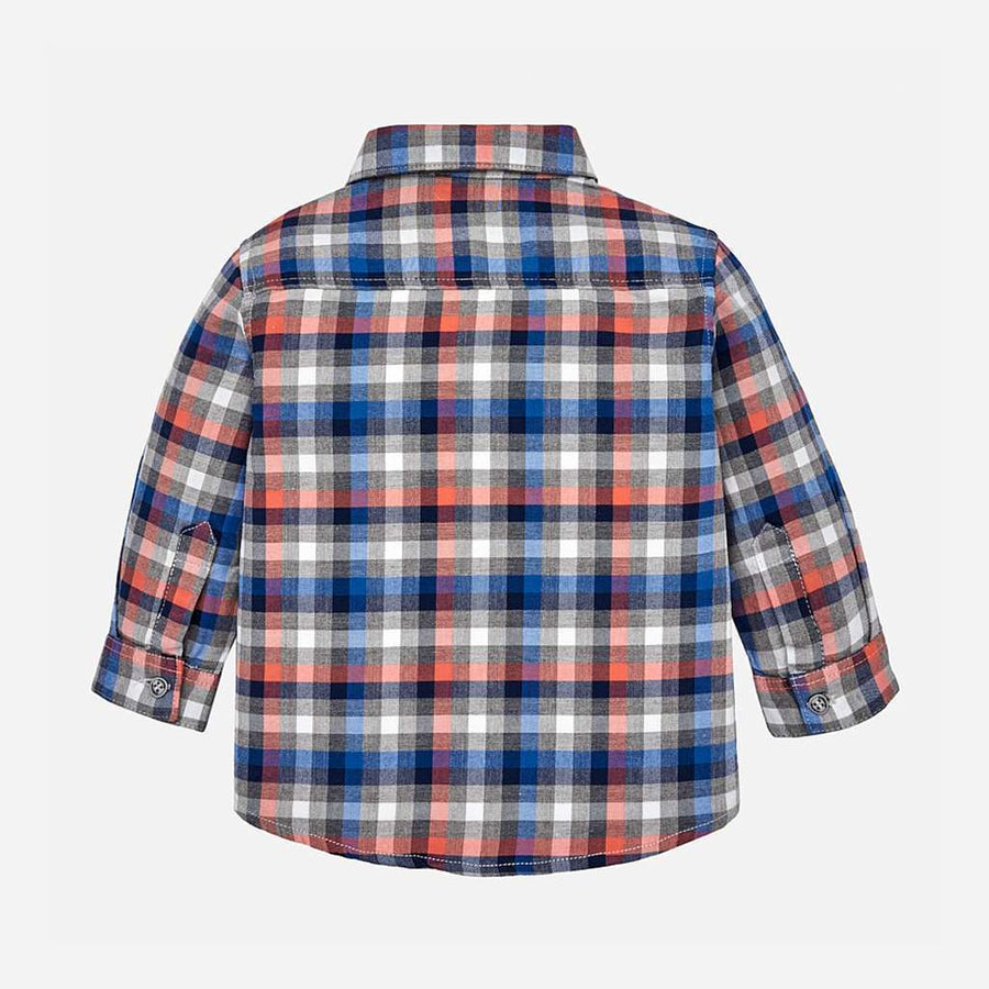Mayoral Paprika Plaid Shirt-Shirts-Mayoral-kids atelier