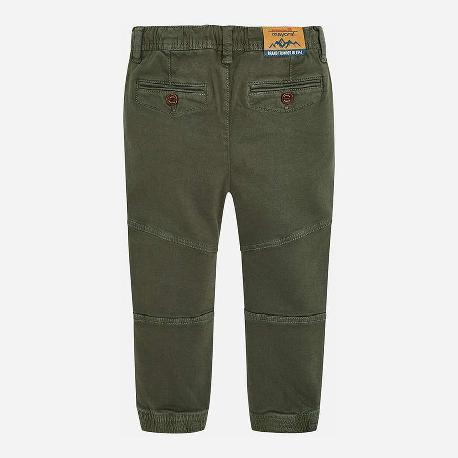 Mayoral Olive Green Jogger Pants