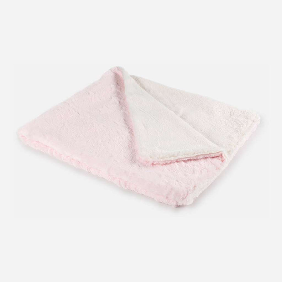 Mayoral Pink Fur Star Blanket-Accessories-Mayoral-ONE SIZE-Pink-kids atelier