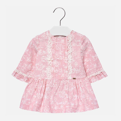 Mayoral Pink Blush Dress-Dresses-Mayoral-kids atelier