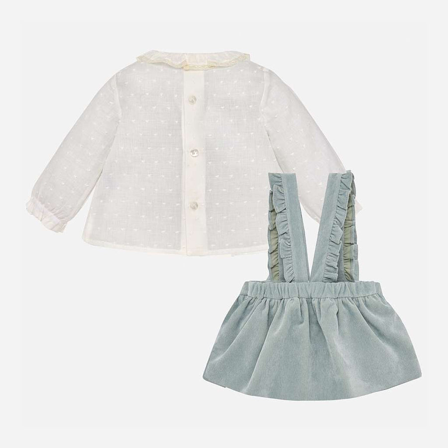 Mayoral Jade Blouse And Skirt Set-Outfits-Mayoral-kids atelier