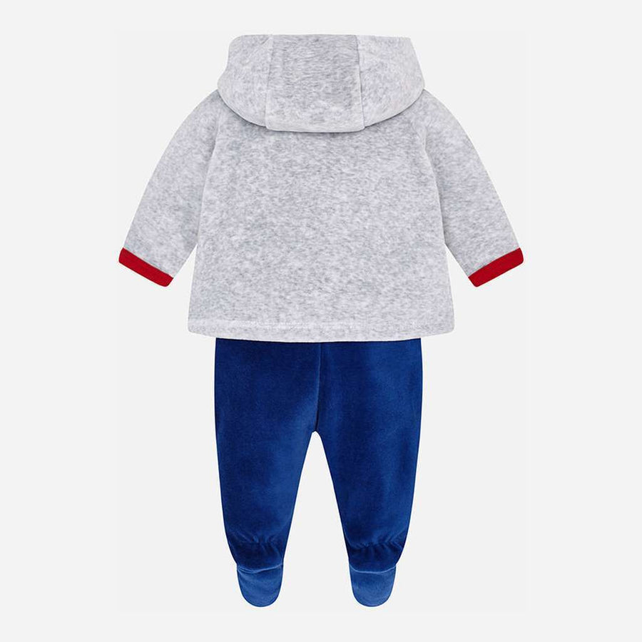 Mayoral Sport Blue 3 piece tracksuit set-Outfits-Mayoral-kids atelier