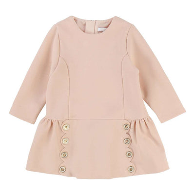 Chloe Pink Milano Dress-Dresses-Chloe-kids atelier