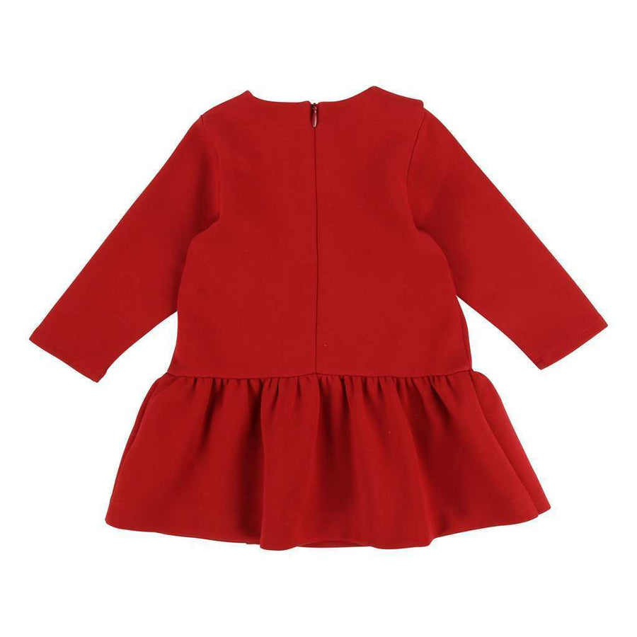 Chloe Rusty Red Milano Dress-Dresses-Chloe-kids atelier