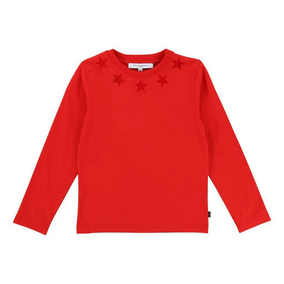 Givenchy Kids Red Star T-Shirt-T-Shirt-Givenchy-kids atelier