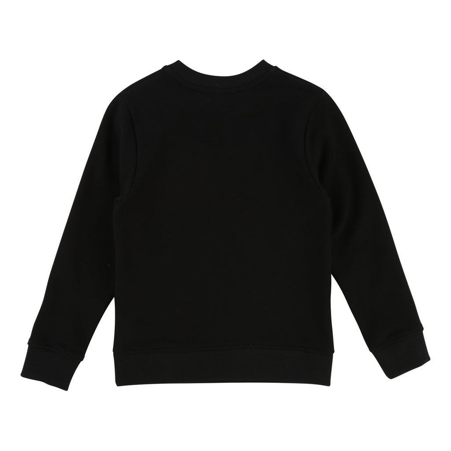Givenchy Kids Black Logo Sweatshirt-Sweaters-Givenchy-kids atelier