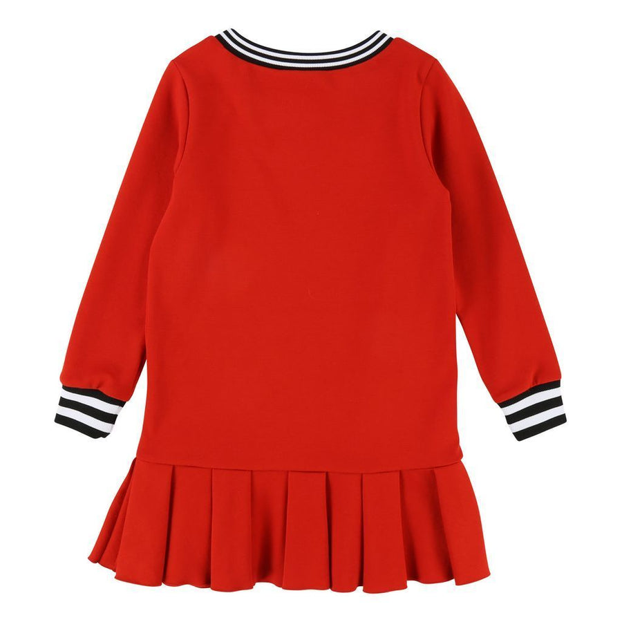 Givenchy Kids Red Ruffle Dress-Dresses-Givenchy-kids atelier