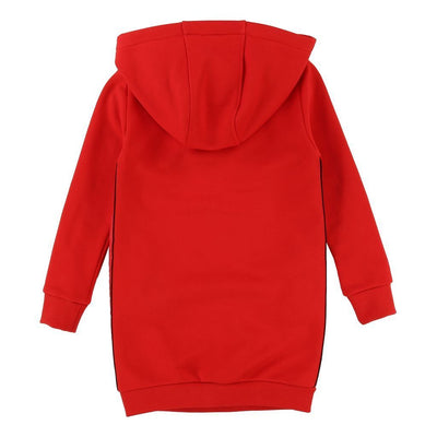 Givenchy Kids Red Hoodie Sweatshirt Dress-Dresses-Givenchy-kids atelier