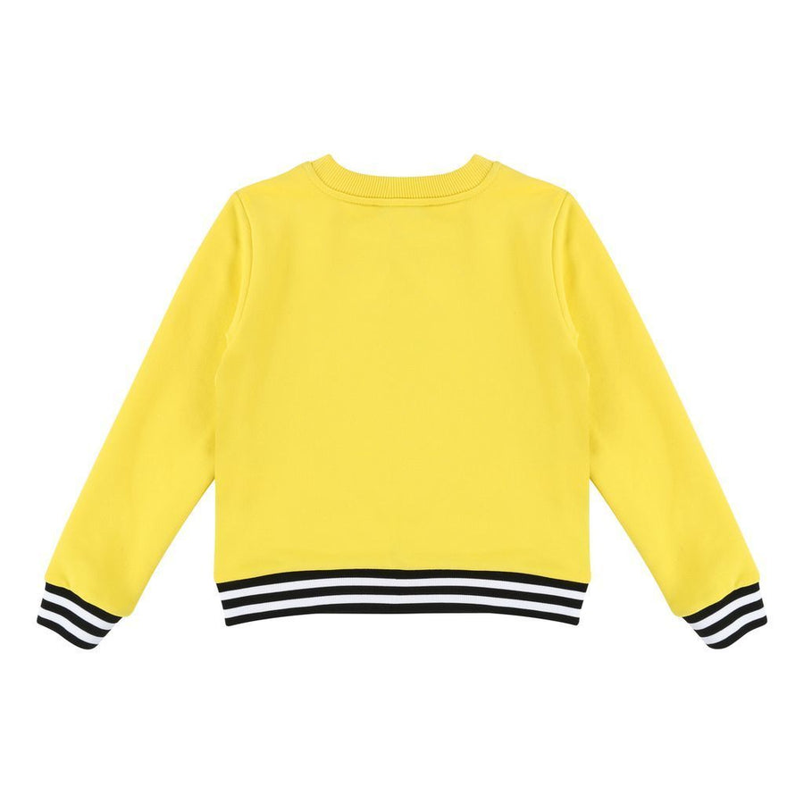 Givenchy Kids Yellow Logo Sweatshirt-Sweaters-Givenchy-kids atelier
