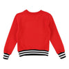 Givenchy Kids Red Logo Sweatshirt-Sweaters-Givenchy-kids atelier