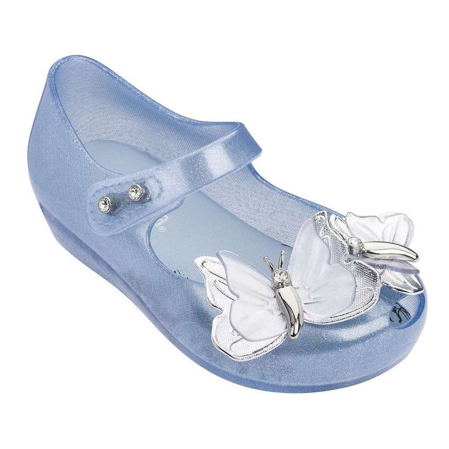 a18cf7c7f MINI MELISSA BLUE SILVER MINI ULTRAGIRL SPECIAL II-Shoes-Mini Melissa-kids  atelier