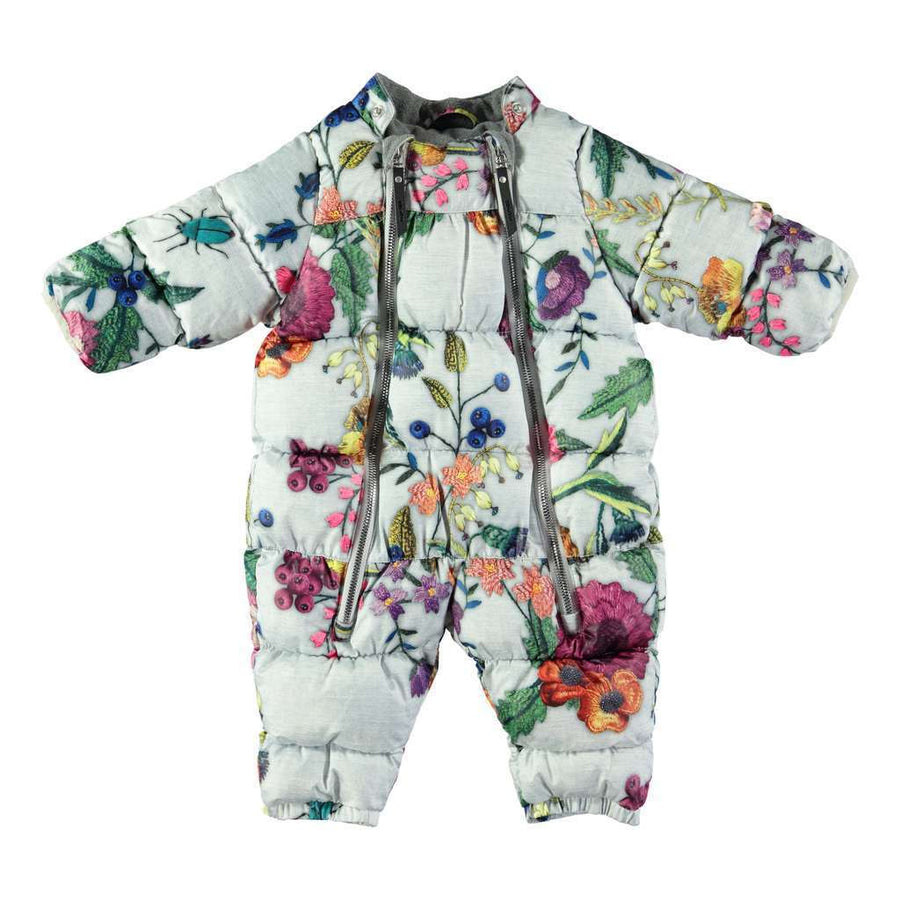 MOLO Hebe Flower Embroidery Snowsuit-Outerwear-Molo-kids atelier