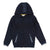 Navy Logo Zip Up Cardigan