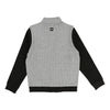 Boss Light Gray Zip Up Cardigan-Outerwear-BOSS-kids atelier